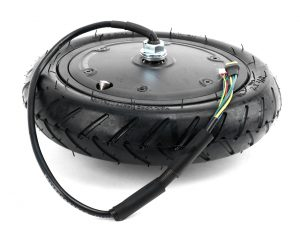 ES-40 Electric Scooter Part   Front Motor With Tyre